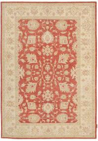 Ziegler Rug 167X239 Authentic  Oriental Handknotted Beige/Crimson Red (Wool, Pakistan)