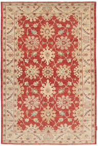 Ziegler Rug 149X220 Authentic  Oriental Handknotted Dark Red/Rust Red (Wool, Pakistan)