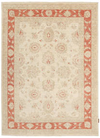Ziegler Rug 153X208 Authentic  Oriental Handknotted Light Brown/Beige (Wool, Pakistan)