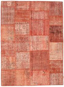 Patchwork Rug 169X232 Authentic  Modern Handknotted Light Pink/Light Brown/Brown (Wool, Turkey)