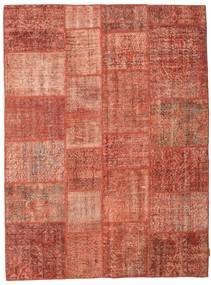 Patchwork Teppich  171X230 Echter Moderner Handgeknüpfter Rot/Hellrosa (Wolle, Türkei)