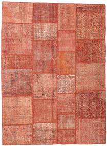 Patchwork Rug 169X232 Authentic  Modern Handknotted Light Brown/Light Pink/Brown (Wool, Turkey)
