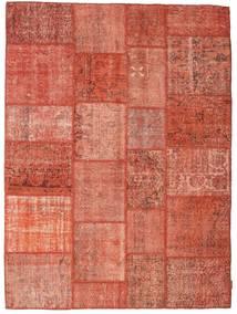 Patchwork Tapis 170X232 Moderne Fait Main Rouge/Rose Clair (Laine, Turquie)