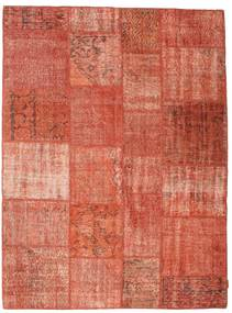 Patchwork Rug 172X230 Authentic  Modern Handknotted Light Pink/Light Brown/Rust Red (Wool, Turkey)