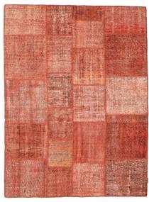 Patchwork Tapis 171X231 Moderne Fait Main Rose Clair/Marron Clair (Laine, Turquie)