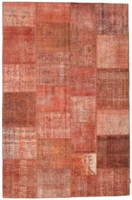 Patchwork Koberec 198X302 Moderní Ručně Tkaný Červenožlutá/Světle Hnědá (Vlna, Turecko)