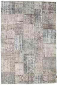 Patchwork Rug 202X300 Authentic  Modern Handknotted Light Grey (Wool, Turkey)