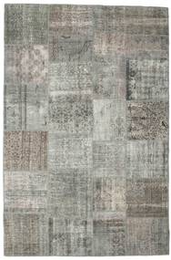 Patchwork Rug 200X300 Authentic  Modern Handknotted Light Grey/Dark Grey (Wool, Turkey)