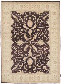 Ziegler Rug 170X237 Authentic  Oriental Handknotted Dark Brown/Beige (Wool, Pakistan)