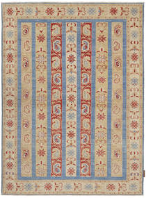 Ziegler Rug 126X177 Authentic  Oriental Handknotted Light Brown (Wool, Pakistan)
