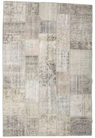 Patchwork Rug 200X302 Authentic  Modern Handknotted Light Grey/Light Brown (Wool, Turkey)