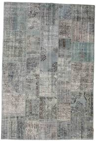 Patchwork Rug 202X300 Authentic  Modern Handknotted Light Grey (Wool, Turkey)