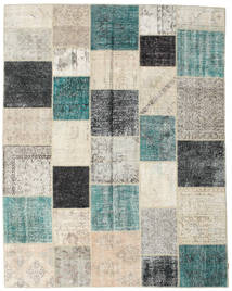 Patchwork Rug 238X303 Authentic  Modern Handknotted Light Grey/Light Brown (Wool, Turkey)