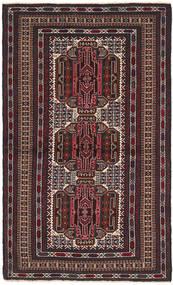 バルーチ 絨毯 103X182 オリエンタル 手織り 濃い茶色/深紅色の (ウール, アフガニスタン)