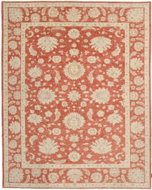 Ziegler Rug 239X302 Authentic  Oriental Handknotted Light Brown/Brown (Wool, Pakistan)