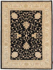 Ziegler Rug 145X203 Authentic  Oriental Handknotted Black/Beige/Dark Beige (Wool, Pakistan)