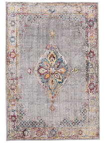 Cornelia - Grey/Purple Rug 200X300 Modern Light Grey/Beige ( Turkey)