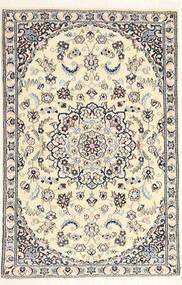Nain 9La Matta 91X137 Äkta Orientalisk Handknuten Beige/Ljusgrå (Ull/Silke, Persien/Iran)