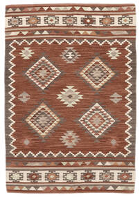 Kilim Malatya Rug 120X180 Authentic  Modern Handwoven Light Brown/Brown (Wool, India)