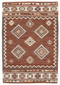 Kelim Malatya Matta 120X180 Äkta Modern Handvävd Ljusbrun/Brun (Ull, Indien)
