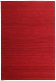 Kilim Loom - Dark Red carpet CVD14902