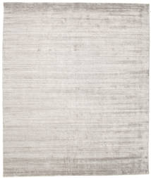 Bamboo Silk Loom - Warm Grey Rug 250X300 Modern Light Grey Large ( India)