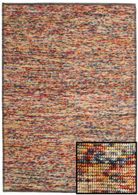 Luna - Multi 2 Rug 160X230 Authentic  Modern Handwoven Light Brown/Brown (Wool, India)