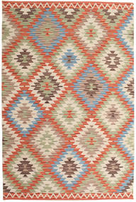 Kilim Oushak Rug 180X275 Authentic Modern Handwoven Light Brown/Orange (Wool, India)