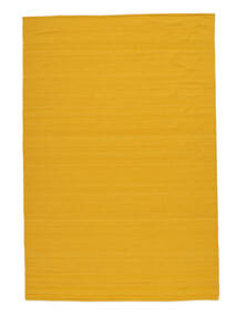 Kilim Loom - Yellow rug CVD14909
