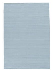 Kilim Loom - Light Blue Rug 160X230 Authentic  Modern Handwoven Light Blue (Wool, India)