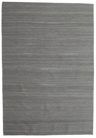 Kelim Loom - Tummanharmaa-matto CVD14911