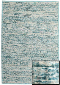 Luna - Light Blue Rug 200X300 Authentic  Modern Handwoven Light Grey/Beige (Wool, India)