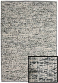 Luna - Grey Rug 200X300 Authentic  Modern Handwoven Light Grey/Dark Grey (Wool, India)
