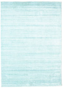 Bamboo silk Loom - Light Blue rug CVD15274