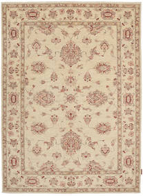 Ziegler Rug 163X234 Authentic  Oriental Handknotted Light Brown (Wool, Pakistan)