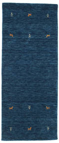 Gabbeh loom Two Lines - Dark Blue carpet CVD14977