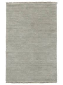Handloom fringes - Grey / Light Green carpet CVD14007