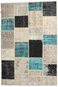 Patchwork Rug 158X236 Authentic  Modern Handknotted Light Grey/Dark Grey (Wool, Turkey)