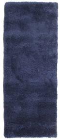 Shaggy Sadeh - Sininen Matto 80X200 Moderni Käytävämatto Tummanvioletti/Sininen ( Turkki)