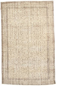Colored Vintage Rug 168X267 Authentic  Modern Handknotted Light Brown/Beige (Wool, Turkey)