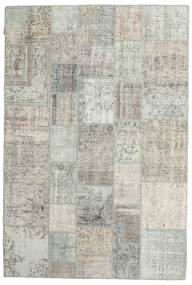 Patchwork Rug 202X300 Authentic  Modern Handknotted Light Grey/Beige (Wool, Turkey)