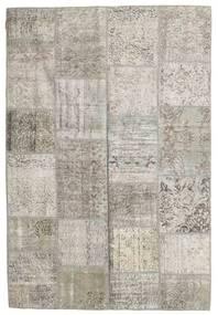 Patchwork Rug 158X232 Authentic  Modern Handknotted Light Grey (Wool, Turkey)