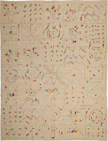 Kilim Suzani szőnyeg ABCU93