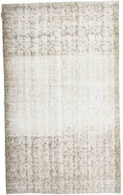 Colored Vintage Rug 160X267 Authentic  Modern Handknotted Light Grey/Dark Beige/White/Creme (Wool, Turkey)