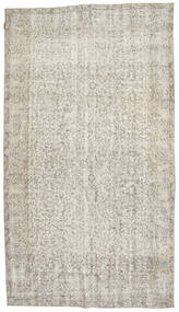 Colored Vintage Rug 163X293 Authentic  Modern Handknotted Light Grey/Dark Beige (Wool, Turkey)