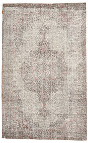 Colored Vintage Rug 161X264 Authentic  Modern Handknotted Light Grey (Wool, Turkey)