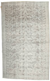 Colored Vintage Rug 158X260 Authentic  Modern Handknotted Light Grey/Dark Beige (Wool, Turkey)