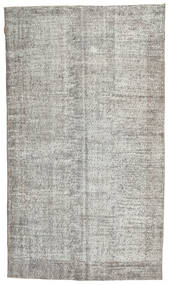Colored Vintage Rug 160X275 Authentic  Modern Handknotted Light Grey/Dark Beige (Wool, Turkey)