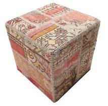 Patchwork stool ottoman χαλι BHKW53