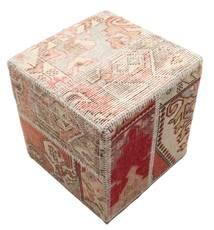 Patchwork stool ottoman tapijt BHKW54
